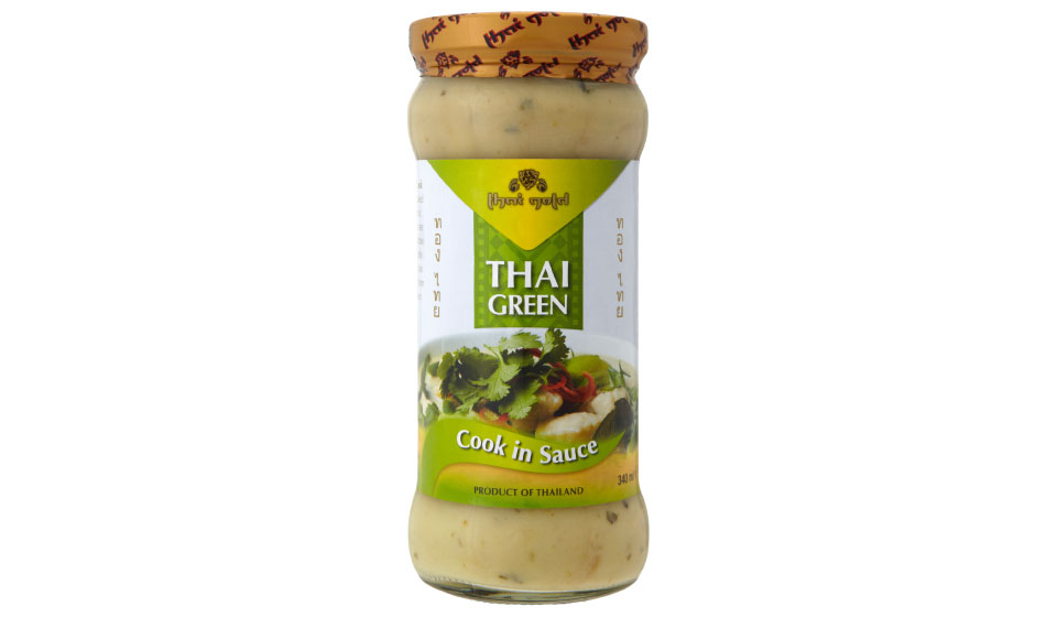 Thai Green Cook in Sauce